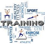 Fitness Training Meaning Work Out And Healthy